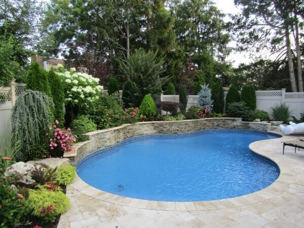 Long Island Retaining Walls & Swimming Pool Design and construction