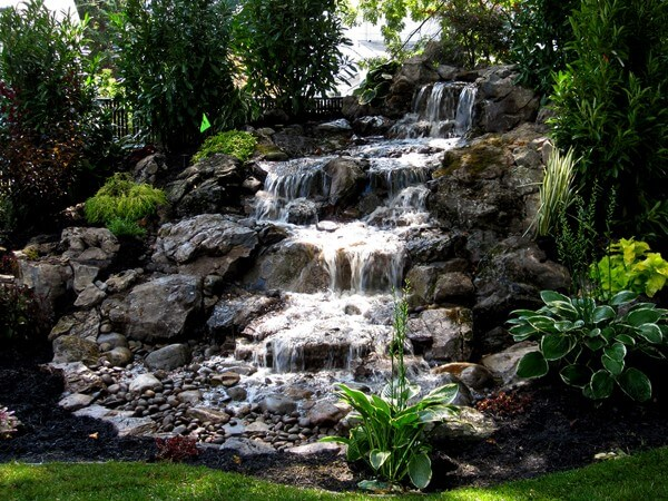 Long Island Waterfalls & Ponds - design and construction